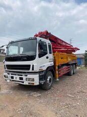автобетононасос SANY 2011 renovated 37m on ISUZU 6*4 truck за запчастинами