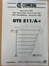 баштовий кран COMEDIL GTS 511