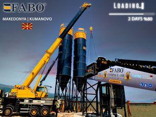 новий бетонний завод Fabo MIX COMPACT-110 CONCRETE PLANT | CONVEYOR TYPE