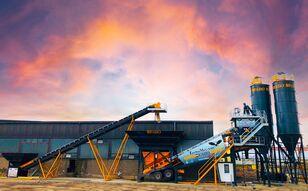 новий бетонний завод Fabo TURBOMIX-100 Cерия Mобильных бетонных установок