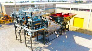 новий бетонний завод Fabo TURBOMIX-120 MOBILE CONCRETE PLANT READY IN STOCK