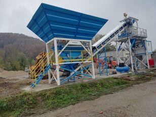 новий бетонний завод PROMAX Compact Concrete Batching Plant C60-SNG-PLUS (60m3/h)