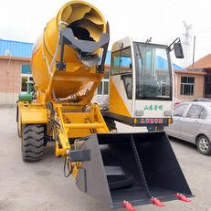новий колісний екскаватор LUZUN selfloading concrete mixer