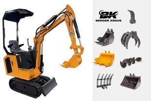 новий міні-екскаватор BERGER KRAUS Mini Excavator BK800B with FULL equipment