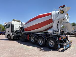 новий напівпричіп бетонозмішувач ALIM mixer semi trailer concrete mixer semi-trailer