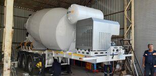 новий напівпричіп бетонозмішувач EXPOTRAILER 12 M3