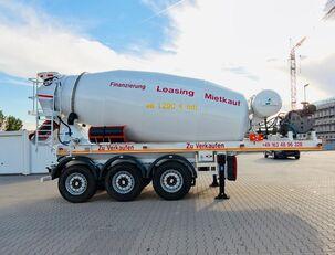 напівпричіп бетонозмішувач SCHWARZMÜLLER TTC-Fulda Betonmischer Auflieger mit Motor  NEU