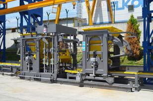 нове обладнання для виробництва бетонних блоків ELKON ELKOBLOCK-36S FULLY AUTOMATIC SINGLE LAYER Concrete Block Machin