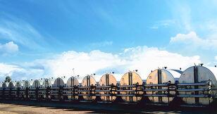 новий силос для цементу MARINI tankFALT - система термоизолированных резервуаров и трубопроводо