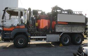 комбінована каналоочисна машина MAN TGS 33.480 Kaiser Aquastar III Recycler V2A після аварії