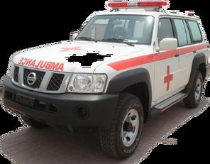 нова машина швидкої допомоги NISSAN Patrol 4.0 XE AT