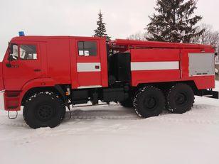 нова пожежна машина МАЗ 6317
