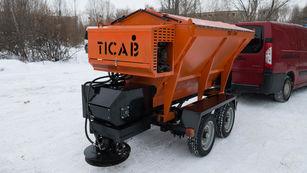 новий причіпний піскорозкидач TICAB Разбрасыватель песка и соли RPS-1500