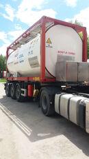 танк-контейнер 20 футів VAN HOOL ОРЕНДА / Охолодження -10 / Підігрів + 80